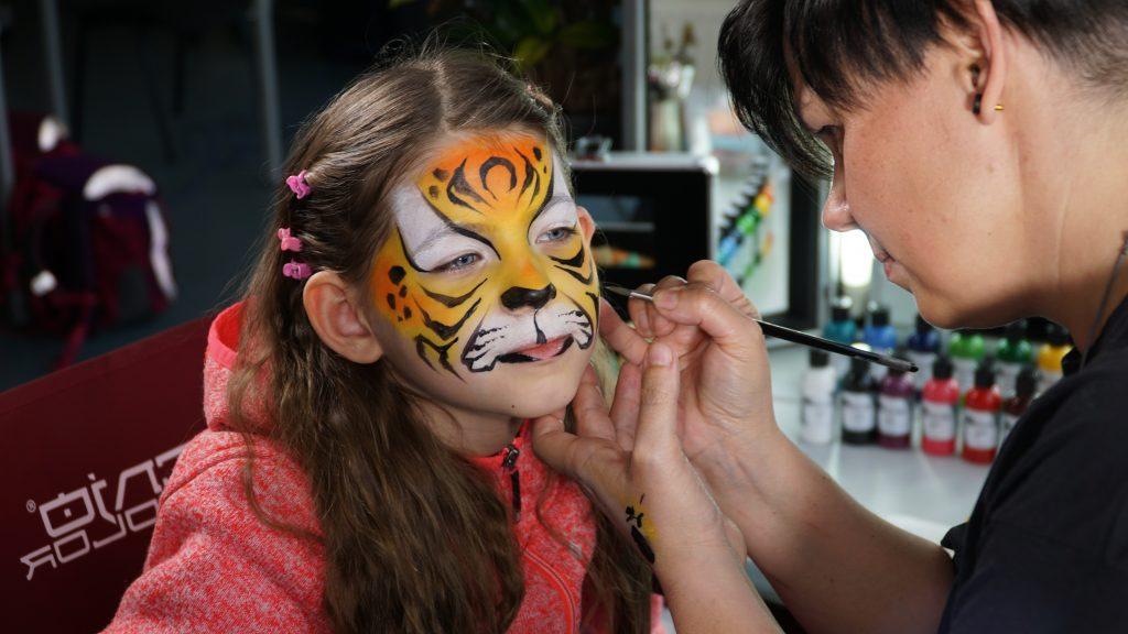 Maquillaje infantil con Silke Kirchhoff y Senjo Color