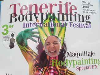 Tenerife bodypainting festival 2018